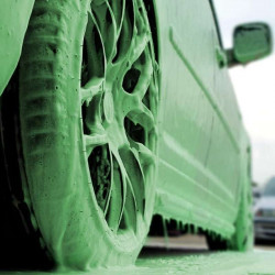 Snow foam verde Alien Magic GAMMA foto real - NOTODOESDETAIL