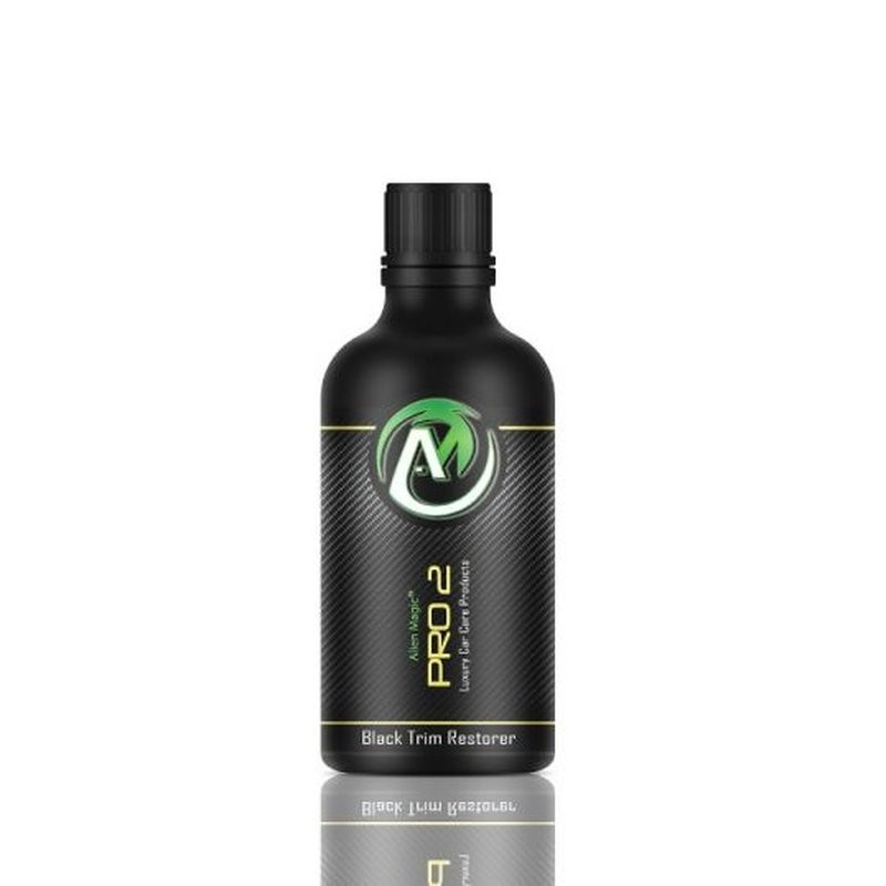 Alien Magic PRO 2 Black Trim Restorer 50ml - Sellante nano para plásticos y gomas - NOTODOESDETAIL